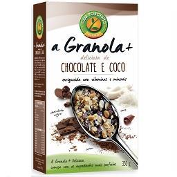 Granola chocolate e coco