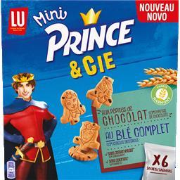 Bolacha mini prince e companhia com pepitas de choco...