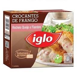 Peito de Frango Crocante C/ Queijo e Fiambre