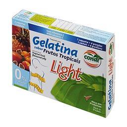 Gelatina Frutos Tropicais Light