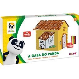 Casa do Panda em cartão