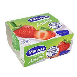 Iogurte aroma morango 4x120g
