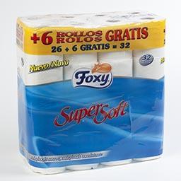 Papel higiénico, supersoft, folha dupla, 32 rolos