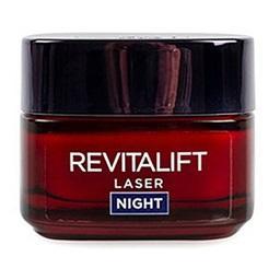 Creme de rosto de noite revitalift, laser