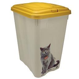 Caixa com tampa amovível para gato 21 L