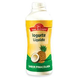 Iogurte líquido de pinacolada