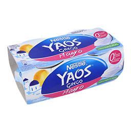 Iogurte Yaos Grego Magro Natural