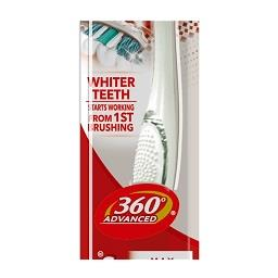 Escova de dentes 360º advanced branqueadora