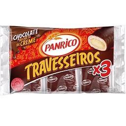 Travesseiros de Chocolate, 3 unidades