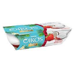Iogurte Oikos Morango e Coco