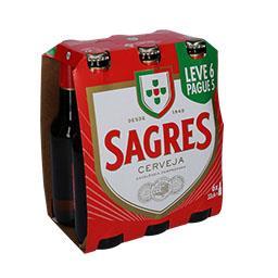 Cerveja leve 6 pague 5
