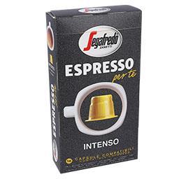 Cápsulas café intenso