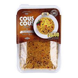 Couscous oriental com vegetais desidratados