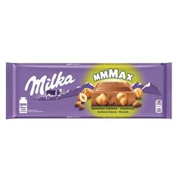 Tablete de chocolate leite c/ avelãs