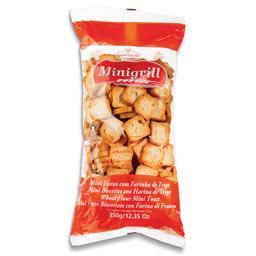 Mini tostas de trigo