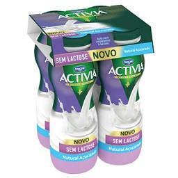 Activia líquido s/ lactose natural açucarado