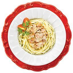 Esparguete Carbonara c/ Salmão