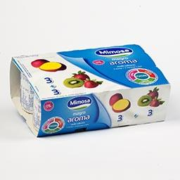 Iogurte magro morango/manga/kiwi