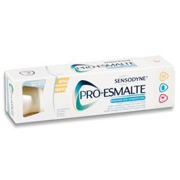 Pasta dentifríca, pro-esmalte, branqueador