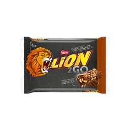 Lion 2go bar choc utzmbal 16(4x33g) n1xe