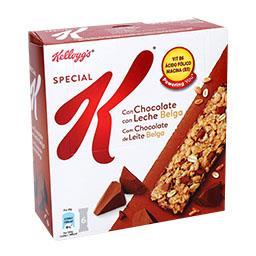 Barra especial k, chocolate de leite