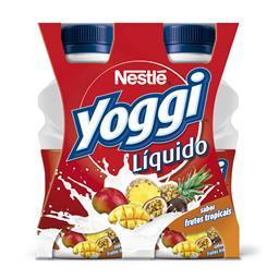 Iogurte líquido yoggi frutos tropicais