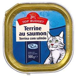 Alimento húmido para gato, Salmão