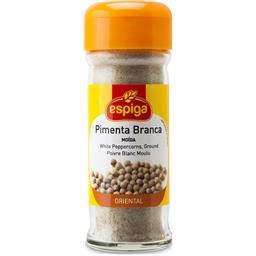 Frasco de pimenta branca