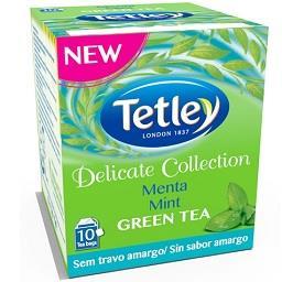 Chá verde suave menta
