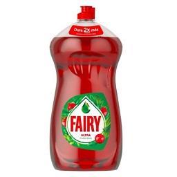 Detergente Líquido p/ Lavar Loiça Ultra Frutos Verme...