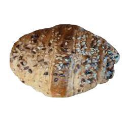 Croissant Brioche Integral com sementes