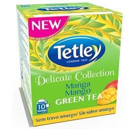 Chá verde suave manga