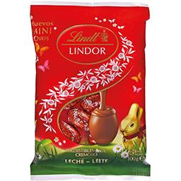 Mini Ovos de Chocolate Lindor Leite