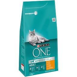 Alimento seco gato frango 1.5k