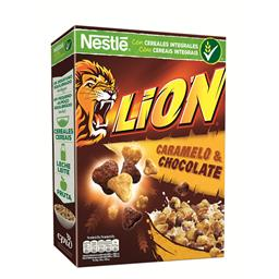 Cereais lion chocolate/caramelo