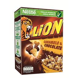 Cereais lion chocolate/caramelo