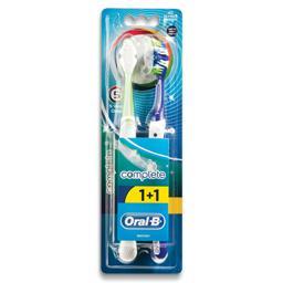 Escova dentes, complete 5 benefícios, 2 unidades