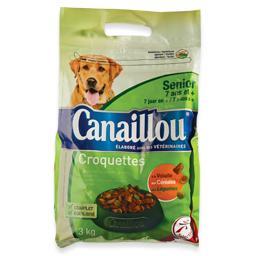 Alimento seco para cão senior, croquetes