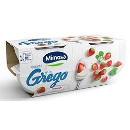 Iogurte estilo grego morango