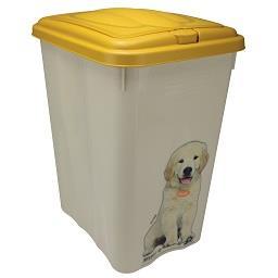 Caixa com tampa amovível para cão 21 L