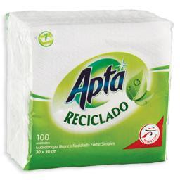 Guardanapo, 30x30, reciclado, 1 folha