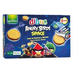 Bolachas dibus Angry Birds Space