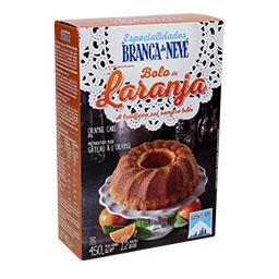 Preparado para bolo de laranja