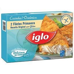 Filetes primavera receita original sem glúten 250g