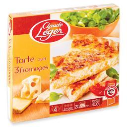 Quiche 3 queijos