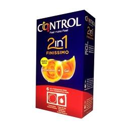 6 Preservativos + Gel Finíssimos |2 em 1