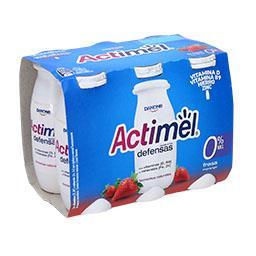 Actimel 0% morango