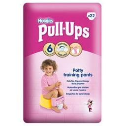 Fraldas cuecas pull up, menina, 16-23 quilos, tamanh...