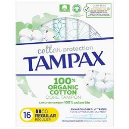 Tampões 100% Orgânico Regular Cotton Protection
