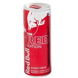 Bebida energética red edition